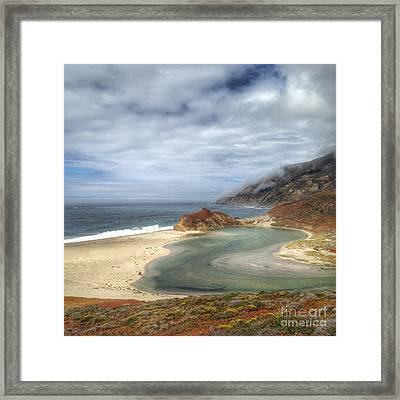 Little Sur River In Big Sur Framed Print