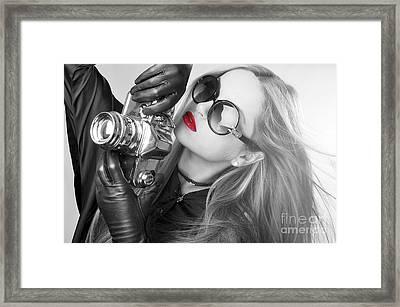 Liuda12 Framed Print by Yhun Suarez