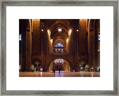 Liverpool Cathedral, Liverpool Framed Print by Panoramic Images