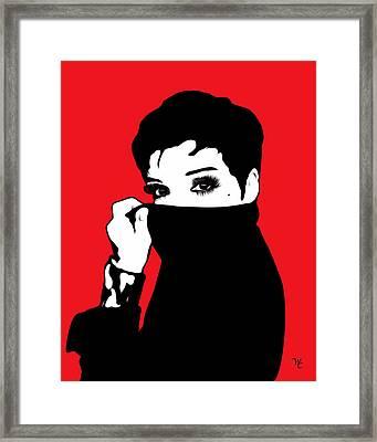 Liza Minnelli - Pop Art Framed Print