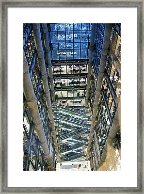 Lloyds Of London Interior Framed Print