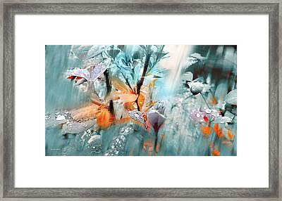 Lluvia Framed Print by Alfonso Garcia