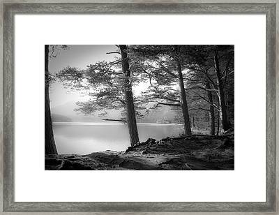 Loch An Eilein Framed Print by Dorit Fuhg