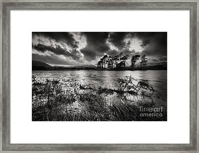 Loch Tulla Framed Print by Rod McLean