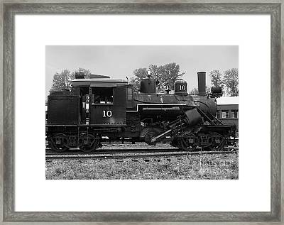 Locomotive #10 Framed Print by Charles Robinson