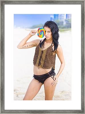 Lollipop Siren Framed Print by Jorgo Photography - Wall Art Gallery
