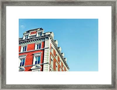 London Building Framed Print by Tom Gowanlock