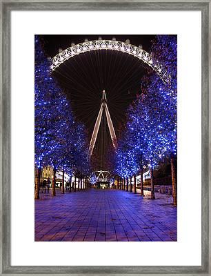 London Eye Framed Print by Stephen Norris