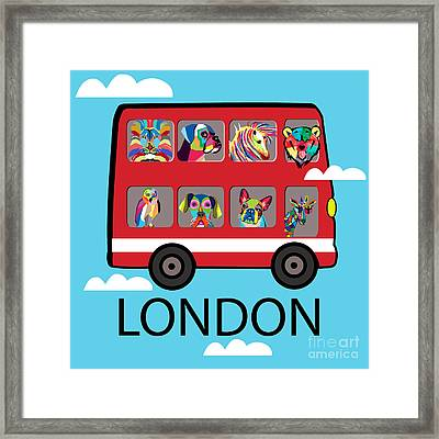 London  Framed Print by Mark Ashkenazi