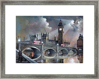 London Pride Framed Print