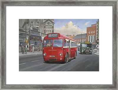 London Transport Q Type. Framed Print