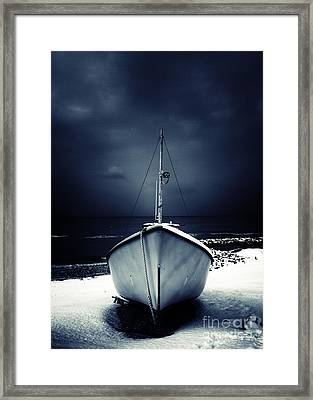 Loneliness Framed Print by Stelios Kleanthous