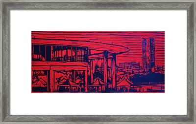 Long Center Framed Print