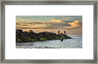 Long Island Life  Framed Print
