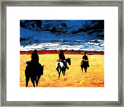 Long Journey Home Framed Print
