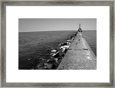 Long Thought Framed Print by Jamie Lynn