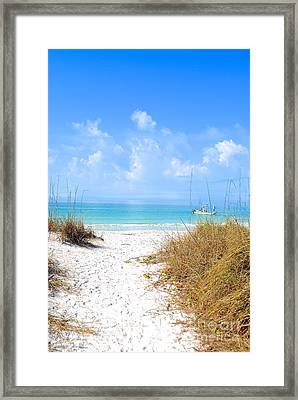 Anna Maria Island Escape Framed Print by Margie Amberge