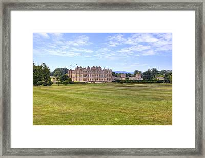 Longleat House - Wiltshire Framed Print by Joana Kruse