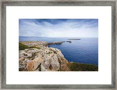 Looking At The Sea Framed Print by Antonio Macias Marin