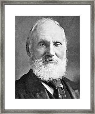 Lord Kelvin Framed Print by Science Photo Library