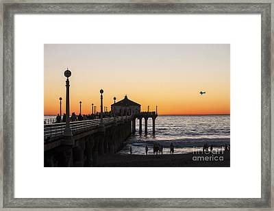 Los Angeles Sunset Framed Print