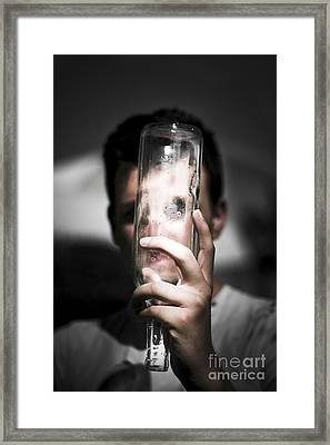 Lost And Hiding Framed Print by Jorgo Photography - Wall Art Gallery