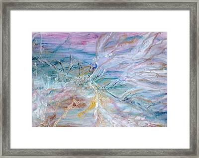 Lost Angel Framed Print by Lesley Fletcher