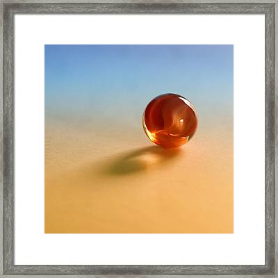 1 Lost Marble Framed Print by Tom Druin