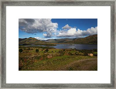Lough Mask, At Clogh Brack Upper, An Framed Print by Panoramic Images