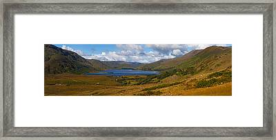 Lough Nafooey, Shot From The County Framed Print by Panoramic Images