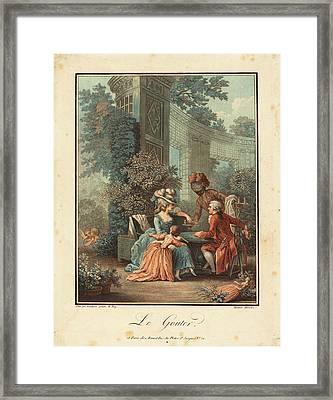 Louis-marin Bonnet After Pierre-antoine Baudouin French Framed Print