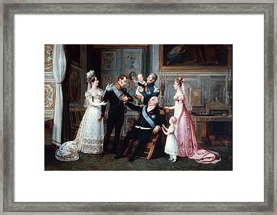 Louis Xviii (1755-1824) Framed Print by Granger