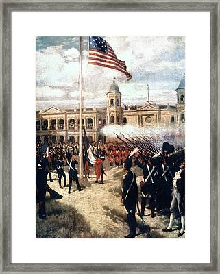 Louisiana Purchase, 1803 Framed Print by Granger