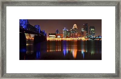 Louisville Kentucky Framed Print by Frozen in Time Fine Art Photography