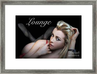 Lounge Framed Print by Dan Holm