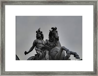 Louvre - Paris France - 011310 Framed Print