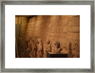 Louvre - Paris France - 011312 Framed Print