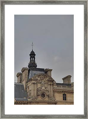 Louvre - Paris France - 01135 Framed Print by DC Photographer