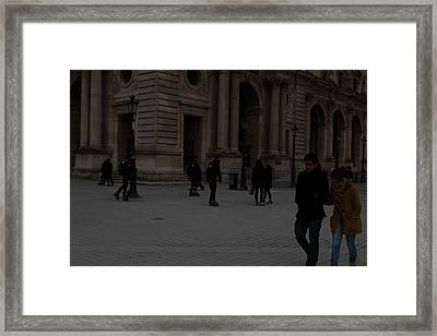 Louvre - Paris France - 01136 Framed Print