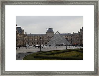 Louvre - Paris France - 01137 Framed Print by DC Photographer