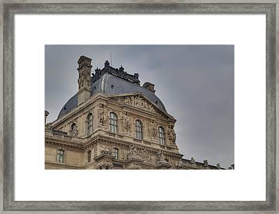 Louvre - Paris France - 01138 Framed Print