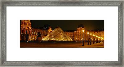 Louvre Paris France Framed Print by Panoramic Images