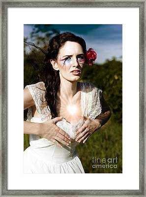 Love And Heart Ache Framed Print by Jorgo Photography - Wall Art Gallery