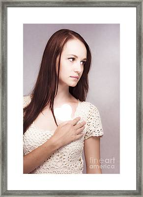 Love And Loss Framed Print
