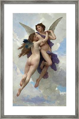 Love And Psyche Framed Print