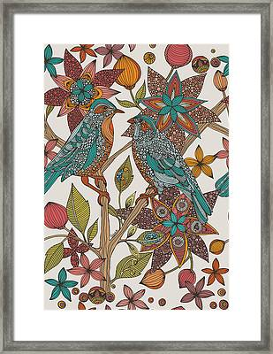 Love Birds 2 Framed Print by Valentina