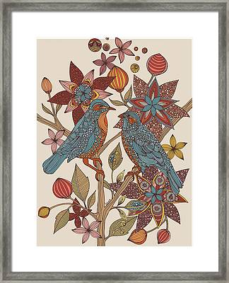 Love Birds Framed Print by Valentina