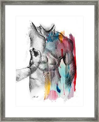 Love Colors 5 Framed Print by Mark Ashkenazi