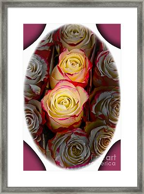 Love Is A Rose Framed Print by Al Bourassa