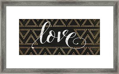 Love Framed Print by Jennifer Pugh